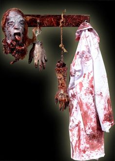 Ohhh reminder! Need a bloody lab coat for my chop shop asylum