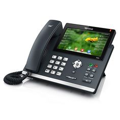 VoIP International LLC - Yealink Ultra-elegant Gigabit IP Phone SIP-T48G
