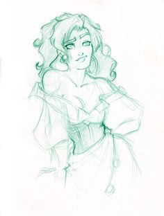 Esmeralda by travelingpantscg on deviantART