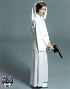 """Here is my tutorial for making the """"Star Wars: A New Hope"""" Princess Leia senatorial gown with a waist seam. The movie accurate way (as far as we can all ..."""