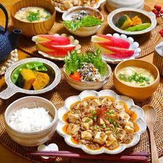 Asian Recipes, Real Food Recipes, Yummy Food, Healthy Recipes, Japanese Dinner, Japanese Food, Chinese Food, Healthy Plate, Healthy Eating