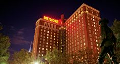It hosted John F. Kennedy in the 1960s.  #Providence Biltmore Hotel, RI   #Historic Hotels of America