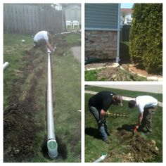 Sump pump drainage ideas new home pinterest best for Sump pump yard drainage systems