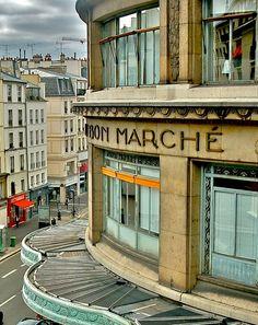 Au Bon Marché, Department Store, 24 Rue de Sèvres, Paris VII