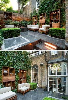 Outdoor space with a very outdoorish feel. landscape contemporary london yard