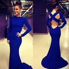 robe bleu <3