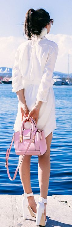 Pink Mini Bag by The Golden Diamonds