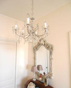 Luminous repurposed Italian vintage brass chandelier by LorellaDia, $470.00