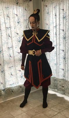 Made to Order, Custom Fit Azula Cosplay- Avatar the Last Airbender Avatar Costumes, Avatar Cosplay, Cool Costumes, Halloween Costumes, Mai Cosplay, Halloween Cosplay, Anime Cosplay, Costume Ideas, Cosplay Outfits