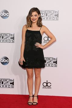 Lucy Hale at the AMAs