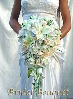 BEAUTIFUL PRINCESS NATURAL Wedding Bouquets bouquet silk bridal groom flowers