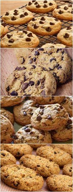 o biscoito que todo mundo quer.. cookies! Bater tudo na batedeira: 2 xícaras de manteiga, 2 xícaras de açúcar de mascavo, 2 xícaras de açúcar comum, 4 ovos inteiros, 2 colheres das de sopa de baunilha. #receita#doce#bolo#mousse#pudim#torta#cheesecake#sobremesa#aniversario#confeitaria Tasty Bites, Cake Boss, Cake Cookies, Food Hacks, I Foods, Sweet Recipes, Cookie Recipes, Biscuits, Sweet Like Candy
