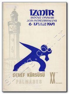 6 EKİM 1971 - 6. Akdeniz Oyunları, Cumhurbaşkanı Cevdet Sunay tarafından İzmir'de törenle açıldı.