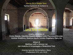 """Arriva """"Una fine estate"""" la mostra di Stanza251 !"""