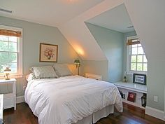 upstairs bedroom; building a dormer-I like the idea of this window