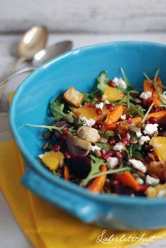 Ein Wintersalat, ein lustiges (anti)Diät-Buch + give-away! – Liebesbotschaft Blog