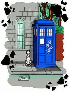 Police Public Call Dog by tonksiford <--- No choice but to put this on both Doctor Who and Dalmatian board.