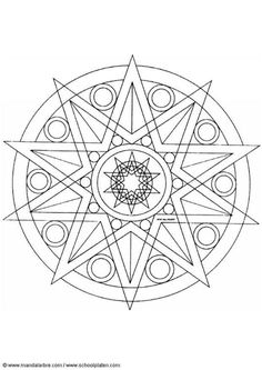 Coloring page mandala-1402b - coloring picture mandala-1402b. Free coloring sheets to print and download. Images for schools and education - teaching materials. Img 4455.
