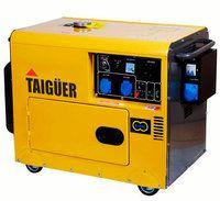 #Generador #Taiguer 5.000W diesel #insonorizado monofásico
