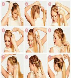 http://cortede-pelo.com/peinados-faciles-paso-a-paso/ Tendencias ➨➨ Peinados Fáciles ¡Paso a Paso! Aprende aquí a hacer nuevos recogidos y semirecogidos de moda súper sencillos, rápidos y bonitos para cualquier ocasión. Contamos con 3 vídeos tutoriales geniales donde verás todo el proceso detallado. Looks formales y elegantes o casuales y más desenfadados. Tú decides cómo peinarte en cada momento. Y lo mejor es que no tardarás en hacerlo más de 5 minutos!! A nosotros nos han encantado ;)