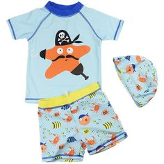 Canoeing - Baby Kids Boys Two Pieces Cartoon Print Short Sleeve Swimwear Rash Guard UPF 50 UV Swimsuit with Caps ** Click the picture for extra details. (This is an affiliate link). Kids Boys, Baby Kids, Canoe Accessories, Rash Guard Swimwear, Canoeing, Two Pieces, Printed Shorts, Swimsuits, Rompers