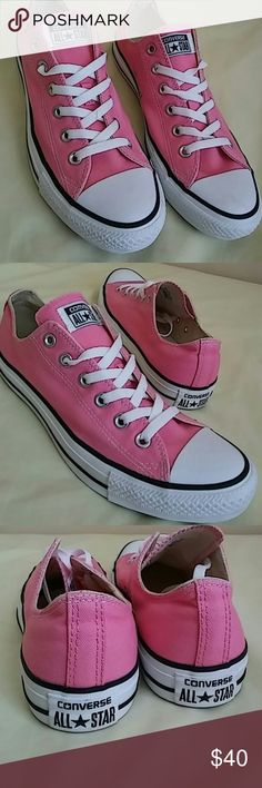 NEW Converse All Star SIZE 8 MEN and 10 WOMEN VNDS ..Just tried on twice indoors but never used it...Men size 8 and Women size 10. Converse Shoes Sneakers