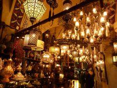 Turkish Lanterns. I love lanterns!