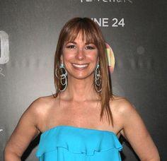 Jill Zarins sleek straight hairstyle