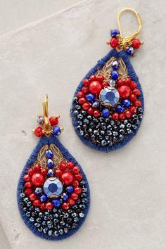 Balneario Earrings #anthrofave #anthropologie