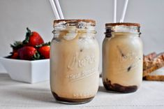 Homemade Iced Mocha from @How Sweet Eats -  @Allison Sousan we need to make these!