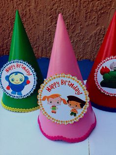 Baby First TV Party Hats By Deco Arts And Crafts Crayon Birthday PartiesFirst BirthdaysBaby Boy 1st