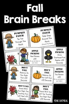 Switcheroo Brain Breaks Freebie