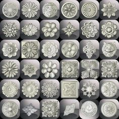 More than 36 3d STL Models - Collection for CNC relief artcam vectric aspire