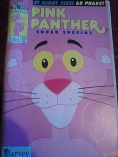 Pink Panther Special #1 by Harvey Comics in 1993.