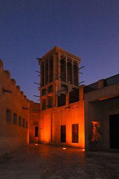 Architecture images we shot, this one - the old area of Bastakiya, Dubai, UAE.