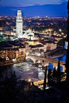 The city of Romeo & Juliet - Verona, Italy