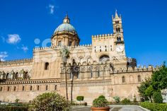 #Palermo #Cathedral royalty-free stock photo