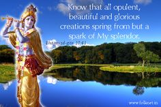 ALL BEAUTIFUL THINGS ARE A SPARK OF HIS SPLENDOUR