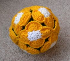 flower crochet amish puzzle ball