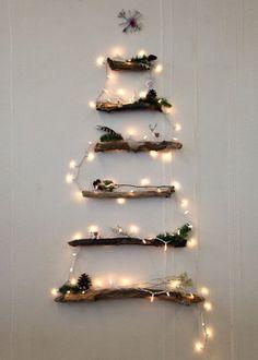 Une déco de sapin de Noël lumineuse
