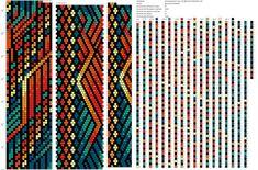 pattern crochet rope Crochet Beaded Bracelets, Beaded Necklace Patterns, Bead Crochet Rope, Bead Loom Bracelets, Beaded Crochet, Bracelet Patterns, Peyote Stitch Patterns, Bead Crochet Patterns, Necklaces