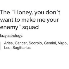 "Photo: || The ""Honey you don't want to make me your enemy"" Squad 