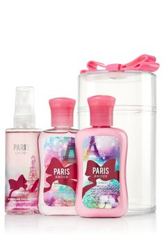 Paris Amour Tied with a Bow Travel Size Gift Set - Signature Collection - Bath & Body Works