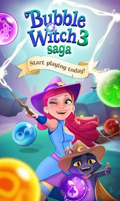 Bubble Witch 3 Saga v2.4.4 [Mod]Requirements: 3.0 and upOverview: Bubble Witch 3 Saga – The brand new game in the popular Bubble Witch series. Stella the Witch is back and she needs your help to defeat the evil Wilbur in this exciting adventure! He may look cute, but he's full of...