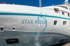 Windstar Cruises Christens New Star Pride | Popular Cruising (Image Copyright © Windstar Cruises)