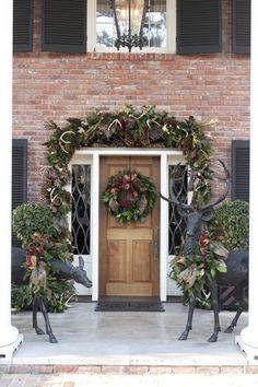 Beautiful Christmas door!