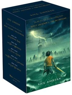 Percy Jackson and the Olympians--must-read for anyone who like juvenile/young adult fiction.