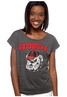 Pressbox Georgia Dolman Sleeve Tee #belk #Georgia #collegiate