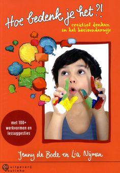 Hoe bedenk je het?! Inspirational Books, Hoe, Reading, School, Watch, Clock, Word Reading, The Reader, Wrist Watches