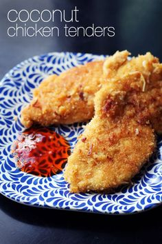 coconut chicken tenders from @janemaynard - easy and scrumptious!